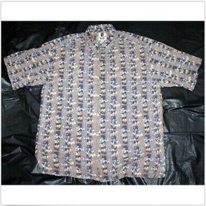 Tori Richard Honolulu Short Sleeve Hawaiian Shirt